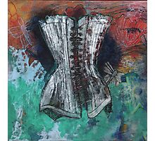 Floating Corset Photographic Print