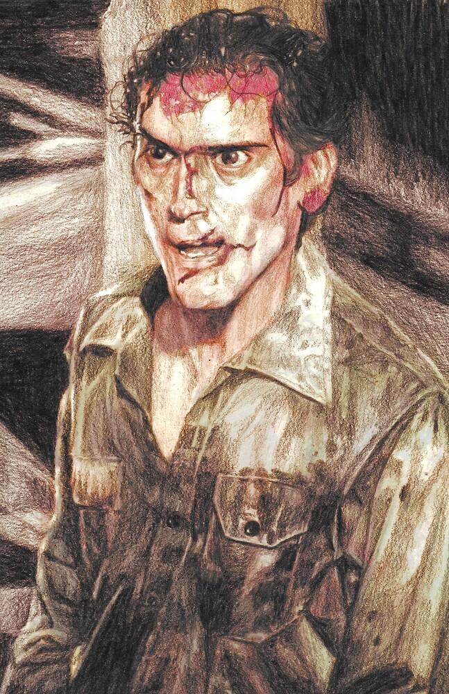 Ash from Evil Dead II (2) by AaronBir