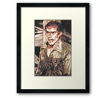 Ash from Evil Dead II (2) Framed Print