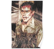 Ash from Evil Dead II (2) Poster