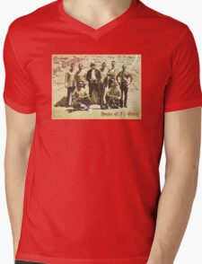 Greetings from San Quentin Mens V-Neck T-Shirt