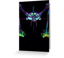 War of the Worlds Martian  Greeting Card