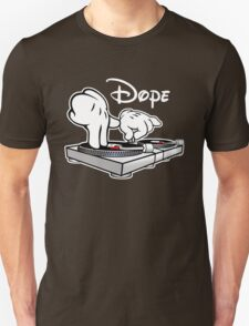 Dope! DJ Cartoon Hands Unisex T-Shirt