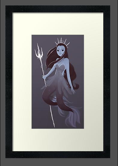 Mystery Mermaid by Ennemme