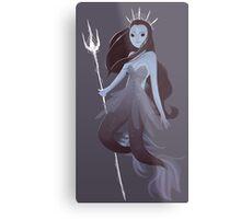 Mystery Mermaid Metal Print
