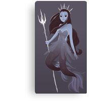 Mystery Mermaid Canvas Print