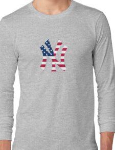 New York Yankees America  Long Sleeve T-Shirt