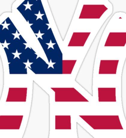 New York Yankees America  Sticker
