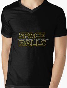 SPACE BALLS THE SCHWARTZ AWAKENS Mens V-Neck T-Shirt