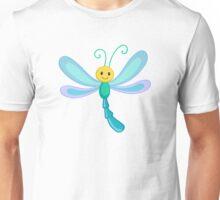 Cute cartoon children dragonfly Unisex T-Shirt