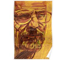 Walter White from Breaking Bad Poster