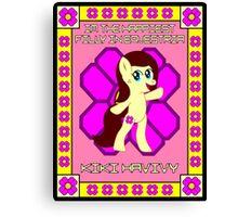 Kiki MLP OC Poster 1 Canvas Print