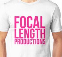 Focal Pink Unisex T-Shirt