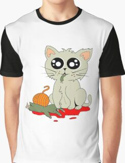 Cannibal Cat Graphic T-Shirt