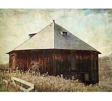 Hexagon Barn Photographic Print