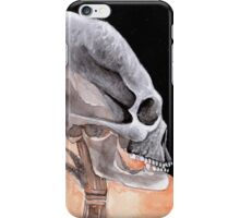 Ancient Elongated Skull Watercolor iPhone Case/Skin