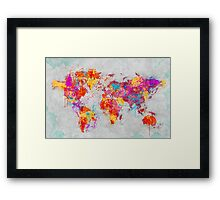Mother Earth Crying Framed Print