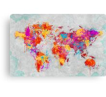 Mother Earth Crying Canvas Print