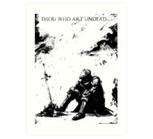 Oscar of Astora Art Print