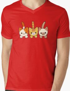 Three Cute Kittens Mens V-Neck T-Shirt