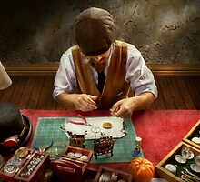 Clockmaker - A demonstration in Horology  by Mike  Savad
