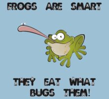 Frogs are smart... by bigredbubbles6