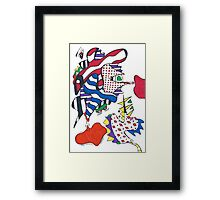 The Frogs Have It Framed Print