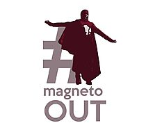 MAGNETO OUT Photographic Print
