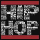 Hip Hop in Black by ArtOnMySleeve