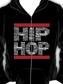 Hip Hop in Black T-Shirt