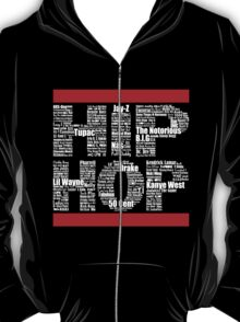 Hip Hop in Black T-Shirt
