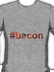 #bacon hashtag bacon texture T-Shirt