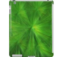 Green Abstract iPad Case/Skin