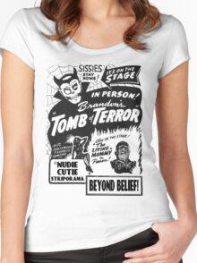 Tomb of Terror! Women's Fitted Scoop T-Shirt