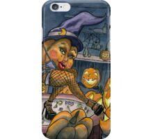 Pumpkin Stripper iPhone Case/Skin