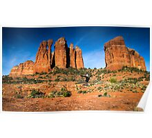 Sunrise at Cathedral Rock Poster