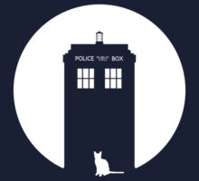 The TARDIS and the kitty by Ross Robinson