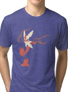 Mega Blaziken Tri-blend T-Shirt