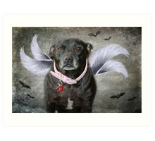 Earth Bound Angel Art Print