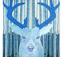 once upon a time stag Photographic Print