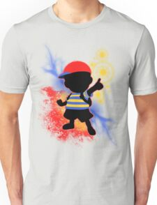 Super Smash Bros. Ness Silhouette Unisex T-Shirt