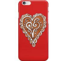Gingerbread Cookie iPhone Case/Skin