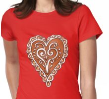 Gingerbread Cookie Womens Fitted T-Shirt