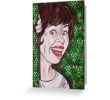 Carol Burnett Greeting Card