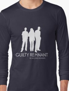 The Leftovers - Guilty Remnant Long Sleeve T-Shirt