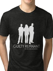 The Leftovers - Guilty Remnant Tri-blend T-Shirt
