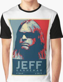 Jeff Hanneman R.I.P. Poster Graphic T-Shirt