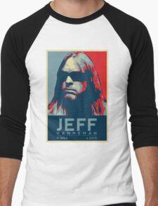 Jeff Hanneman R.I.P. Poster Men's Baseball ¾ T-Shirt