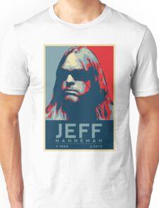 Jeff Hanneman R.I.P. Poster Unisex T-Shirt