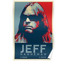 Jeff Hanneman R.I.P. Poster Poster